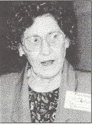 Barbara Nelson was presented the Society for Louisiana Irises Distinguished Merit Award in 1993 for her work in the society.